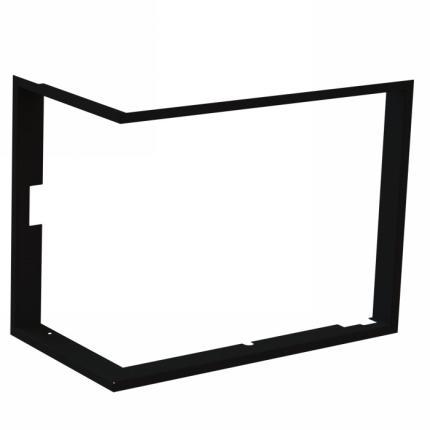 Cadre de finition en inox, à 4 côtés – 90°